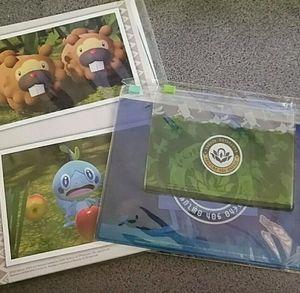 Pokemon Snap Photo Stand & Zipper Pouch Bundle